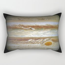 Road through South Pass in the Rocky Mountains Rectangular Pillow
