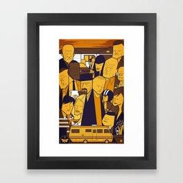 Breaking Bad (yellow version) Framed Art Print