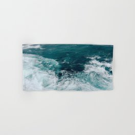 Ocean Waves (Teal) Hand & Bath Towel