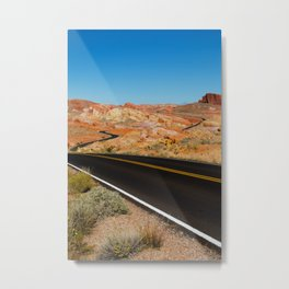 Valley of Fire, Nevada. Metal Print