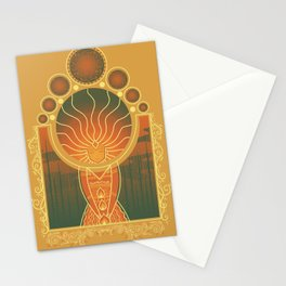 Princess of Flame Stationery Cards