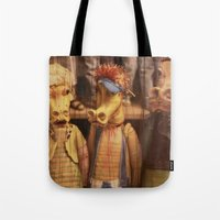 dragons Tote Bags featuring DRAGONS by Logram