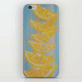 A Stack of Lemon Slices iPhone Skin