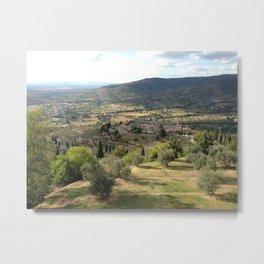 Under the Tuscan Sun Metal Print
