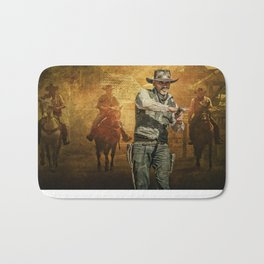 Gunfight at the OK Corral Bath Mat