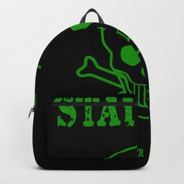 Stay Calm - Nobody Ever Gets Out Alive Backpack