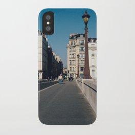 Perfect Day in Paris - Ile Saint Louis iPhone Case