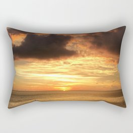 Clearwater Beach Sunset Rectangular Pillow
