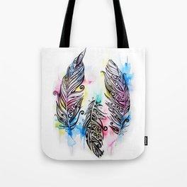 Koru Feathers  Tote Bag