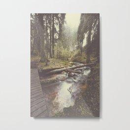 The paths we wander IV Metal Print
