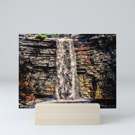 Mesmerizing Waterfalls! Mini Art Print