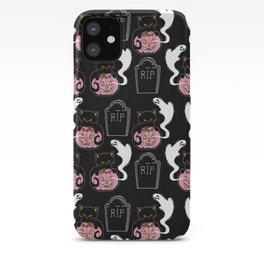 Grave Kitten iPhone Case