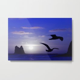 the double bird blues Metal Print