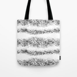 Butterfly Stipe Tote Bag