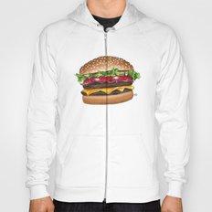 junk food - burger Hoody