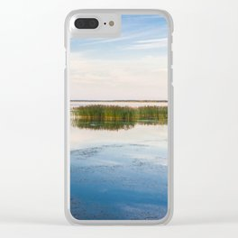 Haapslau and Baltic sea Clear iPhone Case