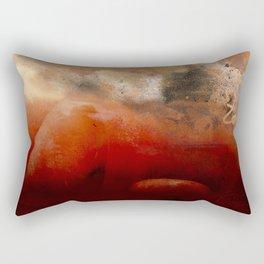 Fire Scale Rectangular Pillow