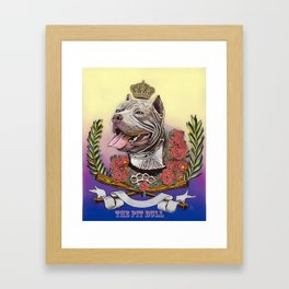 The Pit Boss Framed Art Print