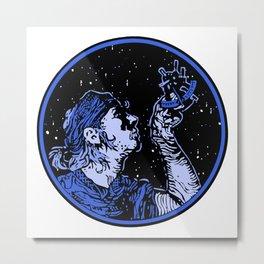 Look to the Stars Metal Print