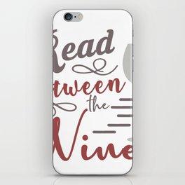 Harvest between wines iPhone Skin