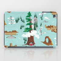 the national iPad Cases featuring National Parks by Julie's Fabrics & Thingummies