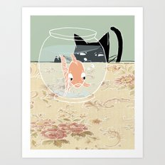 Fishy Art Print