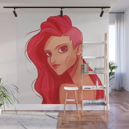 Red beauty! Wall Mural