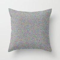 gray Throw Pillows featuring gray by ecceGRECO