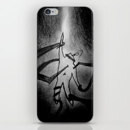 Held Captive By Demons iPhone Skin