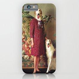 Portrait - Saluki iPhone Case