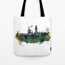 Cracow skyline Tote Bag