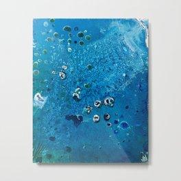 Deep Sea Creatures Dream of Blue Metal Print