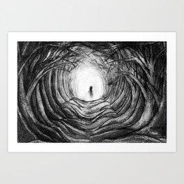 Malapropic Visage Art Print