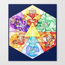 The Seven Sages Canvas Print