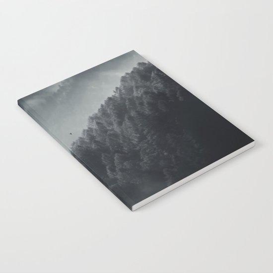 Misty Woodlands Notebook