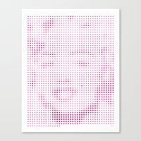 marylin monroe Canvas Prints featuring Marylin Monroe - 86th Birth Anniversary by Grzegorz Samson