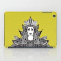 goddess iPad Cases featuring Goddess by ioannart