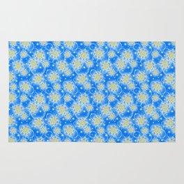 Inspirational Glitter & Bubble pattern Rug