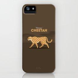The cheetah iPhone Case