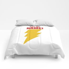 Shazam (Say My Name!) DC Comics Fan Art Comforters