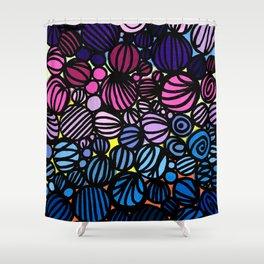 LITTLE LANTERNS Shower Curtain