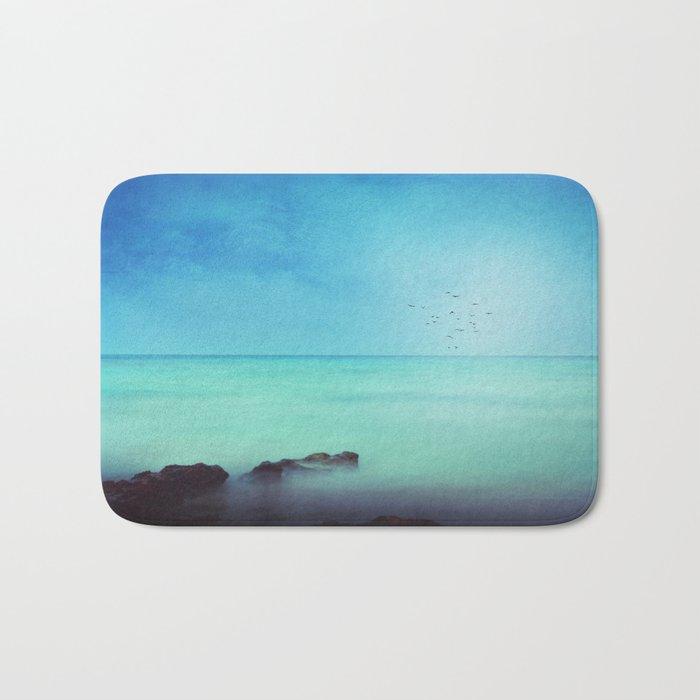 Silent Mediterranean Sea Bath Mat