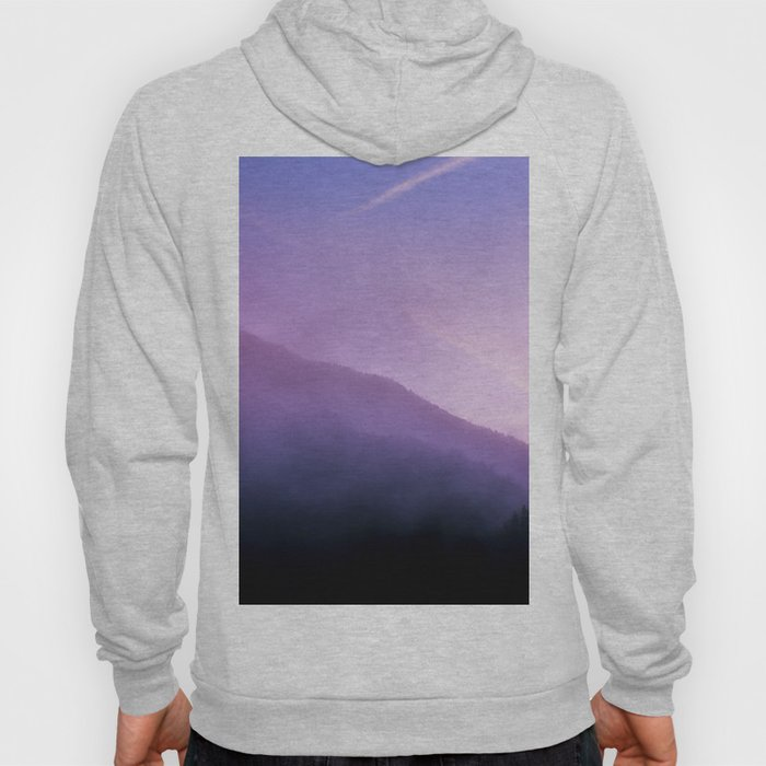 Morning Fog - Landscape Photography Hoody