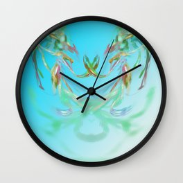 flower of love Wall Clock