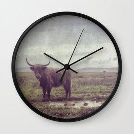 High Land Wall Clock