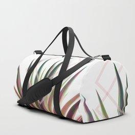 Tropical Desire - Foliage and geometry Duffle Bag