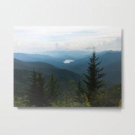 Smoky Mountain National Park -  Mountain Lake Landscape Metal Print