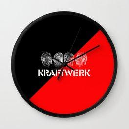 Kraftwerk computer heads Wall Clock