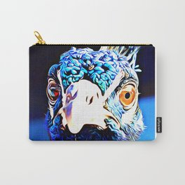 Pippa the Peacock (number 04) Carry-All Pouch