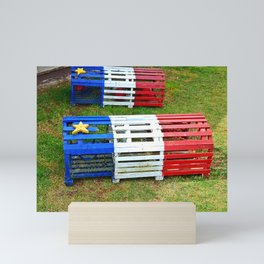 Acadian Lobster Traps Mini Art Print